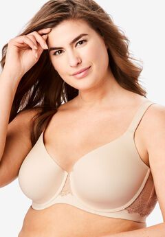 Leading Lady® Brigitte Lace Underwire T-Shirt Bra #5214,