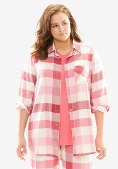 Button-Up Pajama Top by Dreams & Co.®,