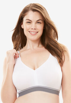 Total Comfort Microfiber Bra by Comfort Choice®,