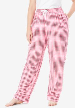 Convertible Cotton PJ Pant by Dreams & Co.®,
