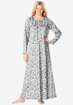 Floral Knit Gown ,