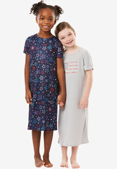 2-Pack Kids' Sleepshirts by Dreams & Co.®,