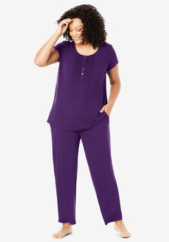 Only Necessities® Pintucked PJ Set,