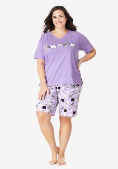 Knit PJ Short Set by Dreams & Co.®,