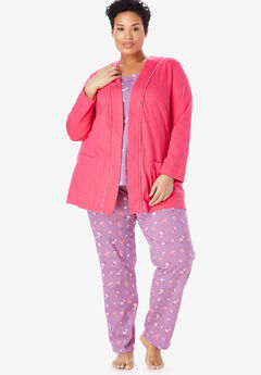 e29d09f929e 3-Piece Cotton Pajama Set by Only Necessities®