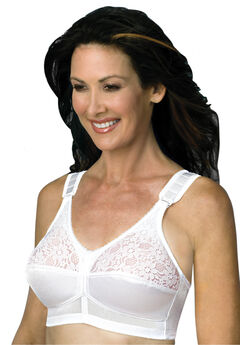 Back Hook Mastectomy Comfort Plus Bra,