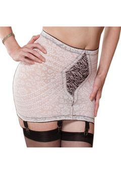 Lacette Open Bottom Girdle w/ Garters,