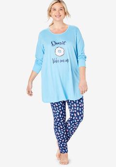 2-Piece PJ Legging Set by Dreams & Co.®,