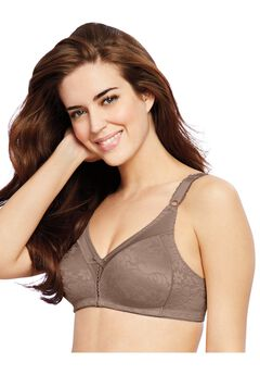 Double Support® Lace Wirefree Bra by Bali®,