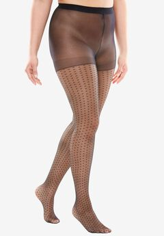 2-Pack Pattern Hosiery by Comfort Choice®,