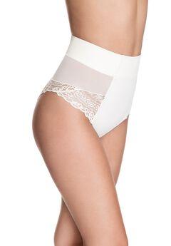 Squeem Brazilian Flair Mid Waist Brazilian Panty,