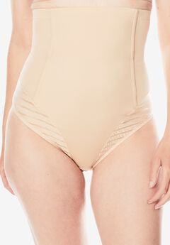 High Waist Brief by Secret Solutions, NUDE