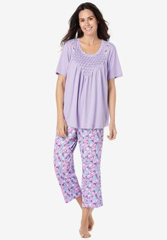 Smocked Capri PJ Set,