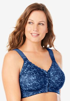 Lace Wireless Posture Bra by Comfort Choice®, EVENING BLUE BABY BLUE
