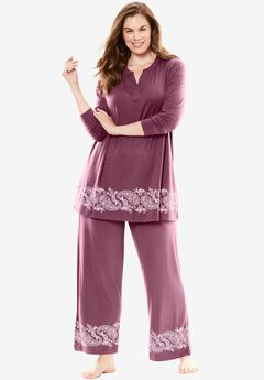 Wide Leg Pajama Pant by Dreams & Co.®,