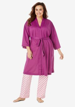 Cooling Robe, RICH MAGENTA