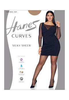 Curves Ultra Sheer Control Top Legwear,