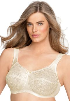 Wireless allover lace bra by Aviana® ,