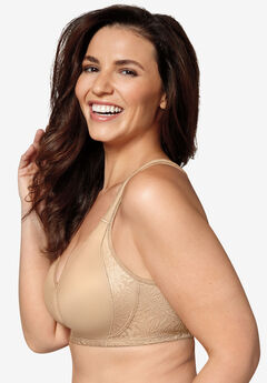 18 Hour® Back and Side Smoothing Wireless Bra 4049B,