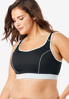 High-Impact Underwire Sport Bra by Comfort Choice®,