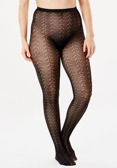 2-Pack Patterned Tights,