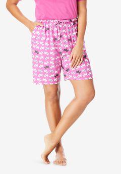 Print Pajama Shorts , ROSEBUD SCOTTIES