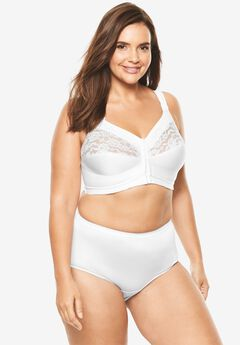 The Easy Enhancer® Cotton Posture Bra , WHITE