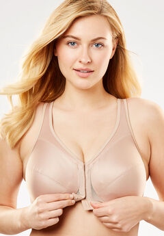 Magic Lift® Front-Hook Wireless Posture Bra by Glamorise®,