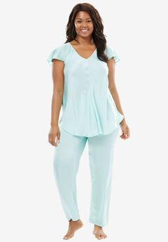 Luxe Satin PJ Set by Amoureuse®,