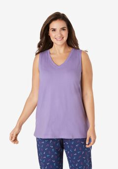Cotton Sleep Tank by Dreams & Co.®,