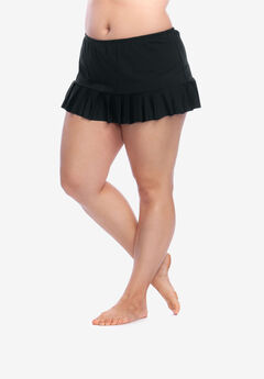 Pleated Swim Skirt by 24th & Ocean,