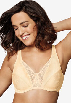Floral signatures underwire bra by Playtex Secrets®,