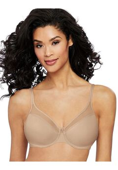 One Smooth U® Ultra LightIllusion Neckline Underwire Bra by Bali,