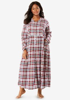Flannel Plaid Lounger by Only Necessities®,