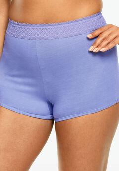 Lace Waistband Boyshort by Comfort Choice®,