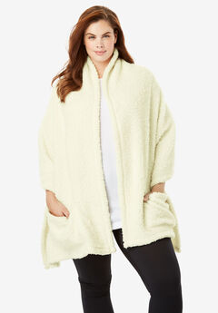 Sherpa Wrap by Dreams & Co.®, IVORY