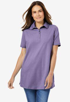 Perfect Short-Sleeve Polo Shirt,