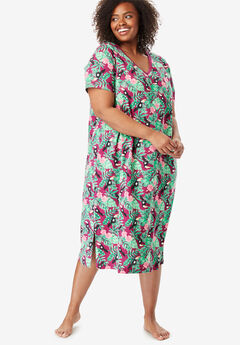Long Print Sleepshirt by Dreams   Co.® 16a6ef98d