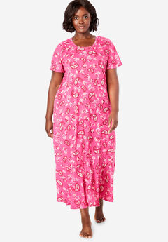 2ea9b0fb24 Cool Dreams Flounced Nightgown by Only Necessities®