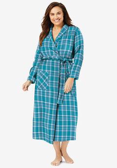 Long Flannel Robe ,