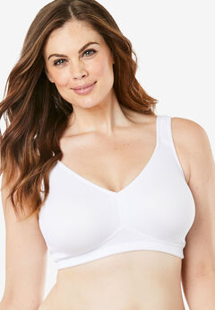 2a567aa228 Dreamy Comfort Microfiber Everyday Bra by Leading Lady®
