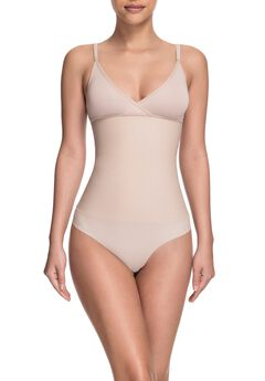 Squeem Celebrity Style Soft Cup Bodysuit,