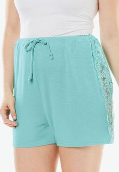 Lunar Lace Shorts,