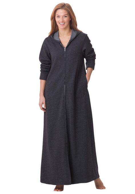 3fc790fade Hooded Fleece Robe by Dreams   Co.®