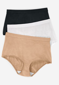 3-Pack Modal Full-Cut Brief by Comfort Choice®, BASIC PACK