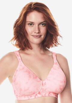 Leading Lady® Brigitte Full Coverage Seamless Wireless Bra 5042,