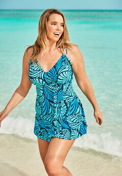 Two-Piece Swim Dress by Swim 365,