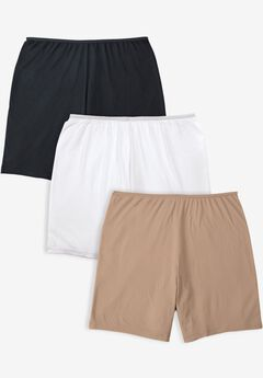 3-Pack Stretch Cotton Boxer Boyshort By Comfort Choice®,