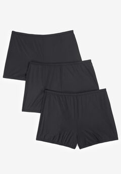 3-Pack Stretch Microfiber Boyshort By Comfort Choice®,