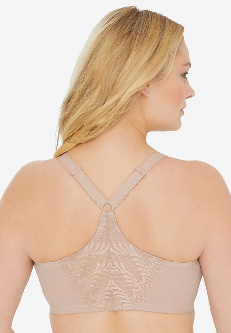 813a8df490a Front Close T-Back Wonderwire® Bra by Glamorise®
